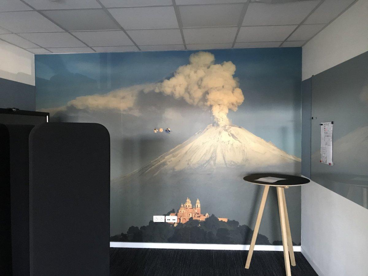 SSB scrum room Popocatépetl